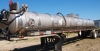1987 Frell 130 bbl Stainless Steel Certified Vacuum Trailer
